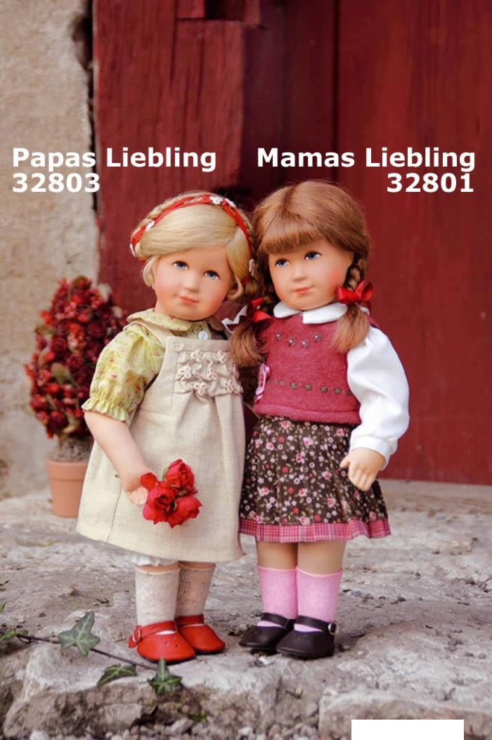 Käthe Kruse Puppe Liebeskind Papas Liebling 32803 links