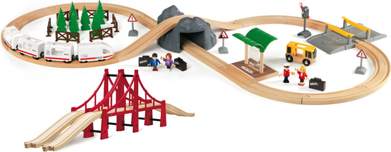 BRIO Railway Travel Set - promotion set 33169 online at