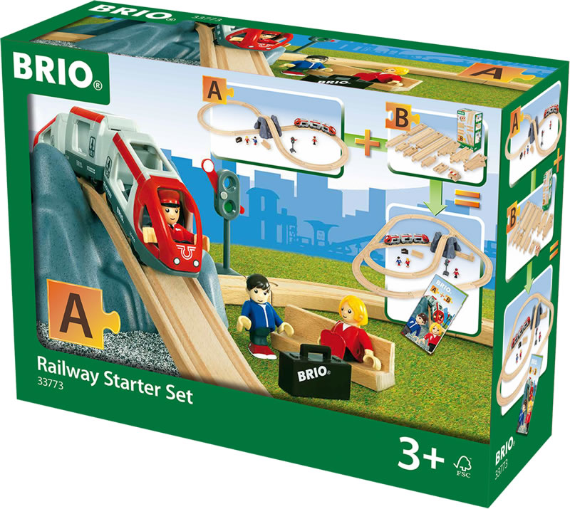 Brio Railway Starter Set 33773 Online At Papiton