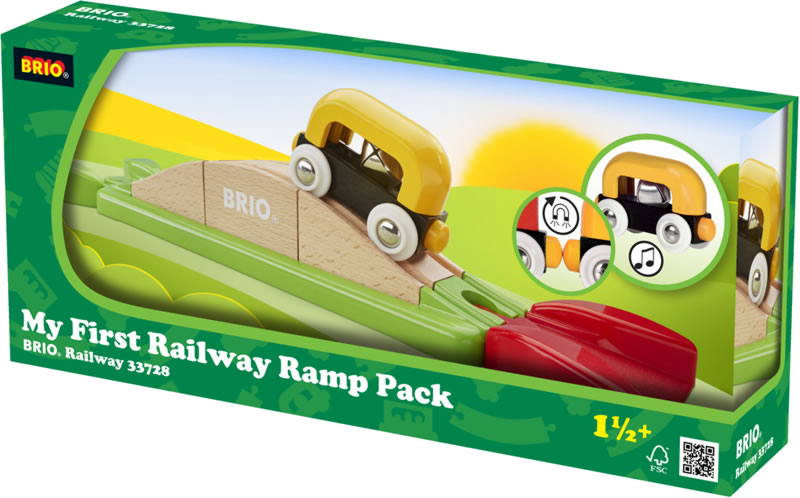 How do the pieces fit together? Let the youngest builders figure it out  with these easy to grip puzzle shapes. Set the train wagon wheels into play  as it ...