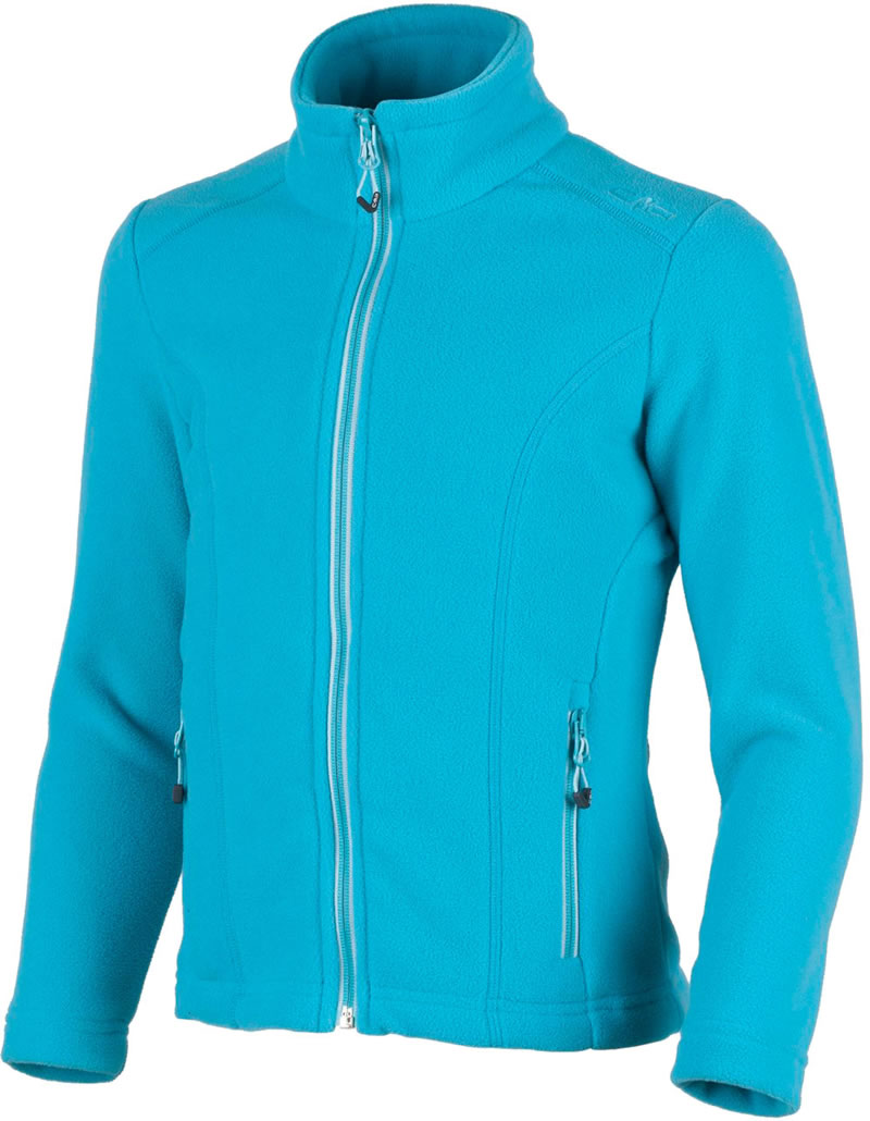 CMP Fleece jacket Arctic Fleece Girl curacao/türkis 3H14615-L609 ...