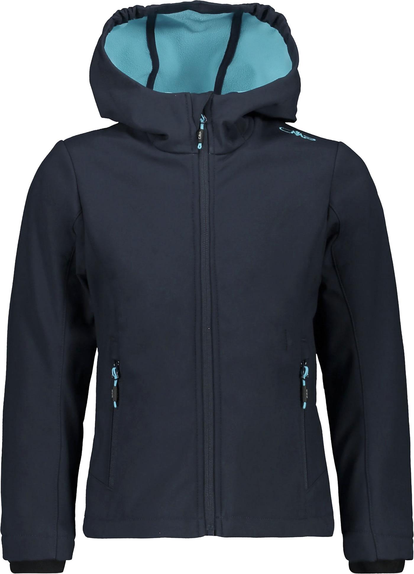 CMP Softshell jacket with hood Girl blueturchese 3A29385N 03ND