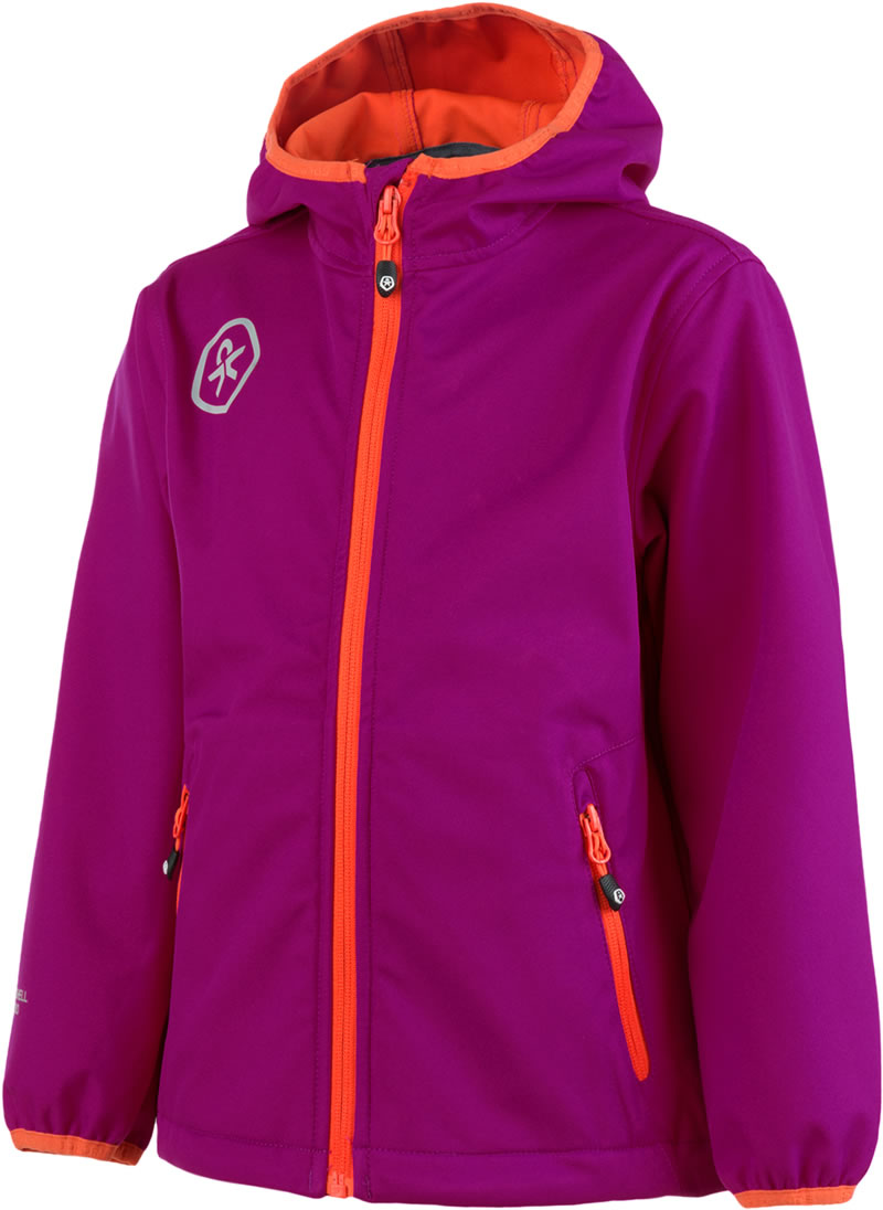 Color Kids Softshell Jacket BARKIN Festival Pink 102875 0494