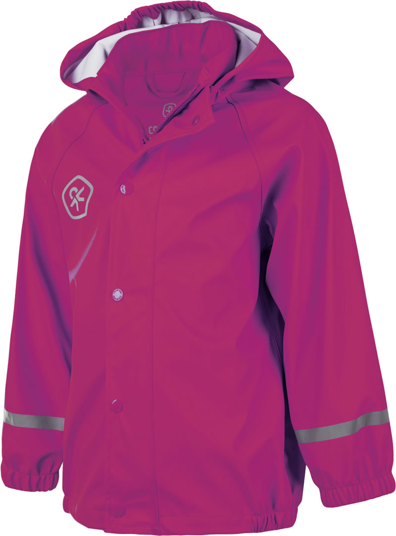 Color Kids Regenjacke TATUM PU Bright Rose 103826 0440