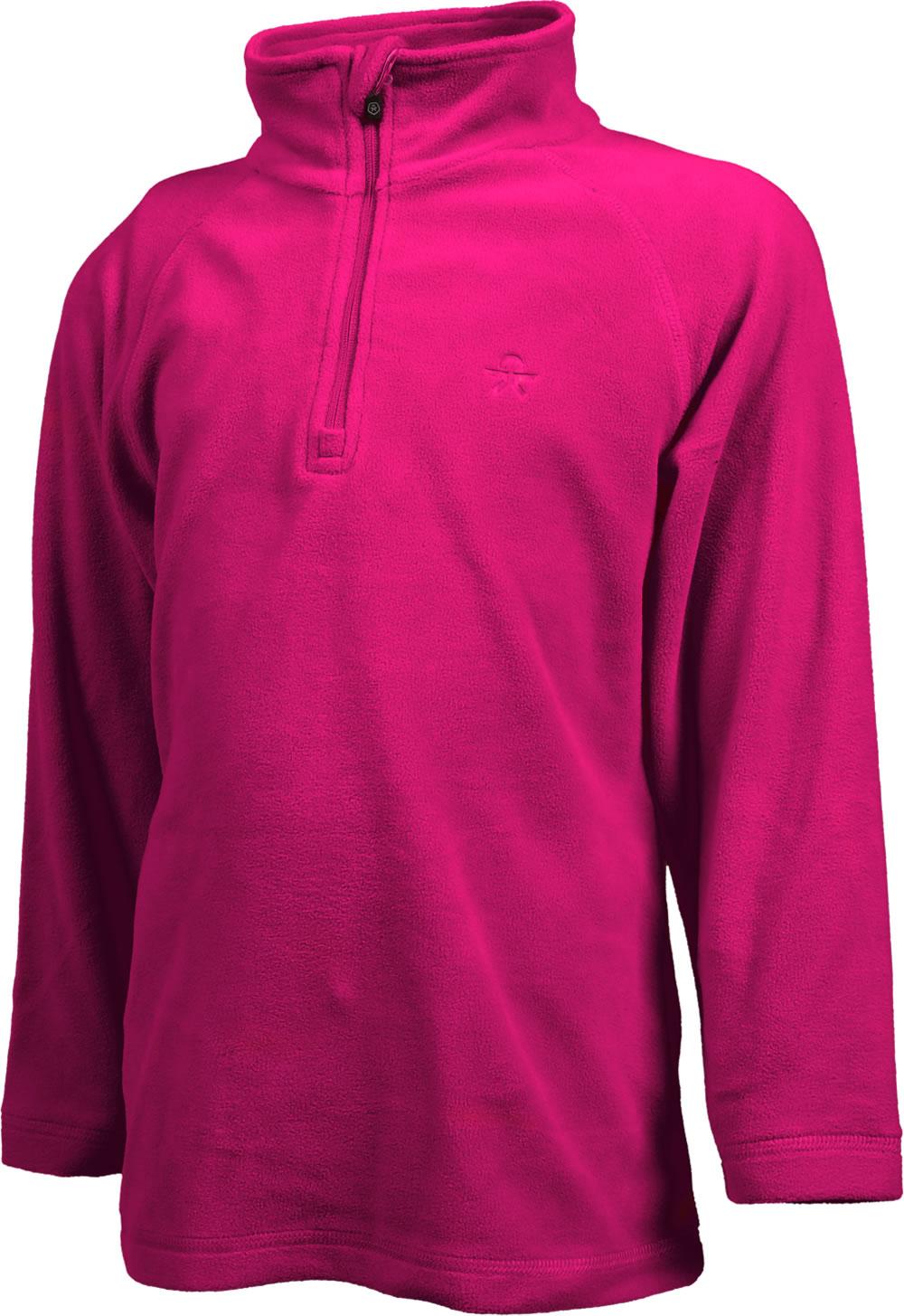 Color Kids Fleece Pullover SANDBERG rasberry 103794 443
