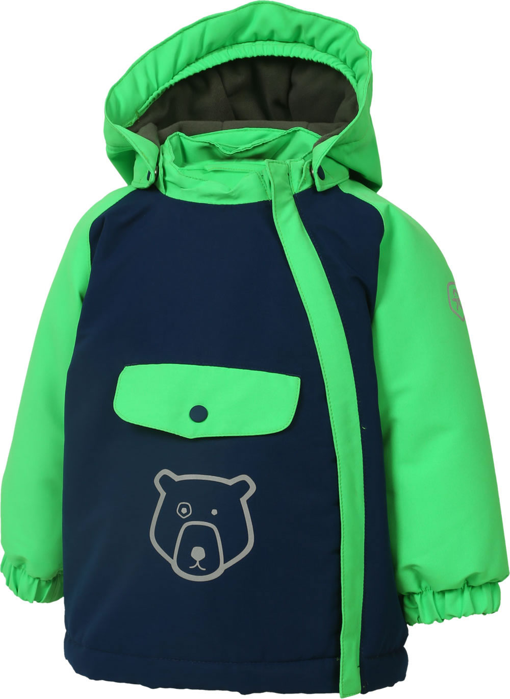 Color Kids Gefütterte Winter Jacke Mini DAIDO Air flo 8.000 blue 104169 188