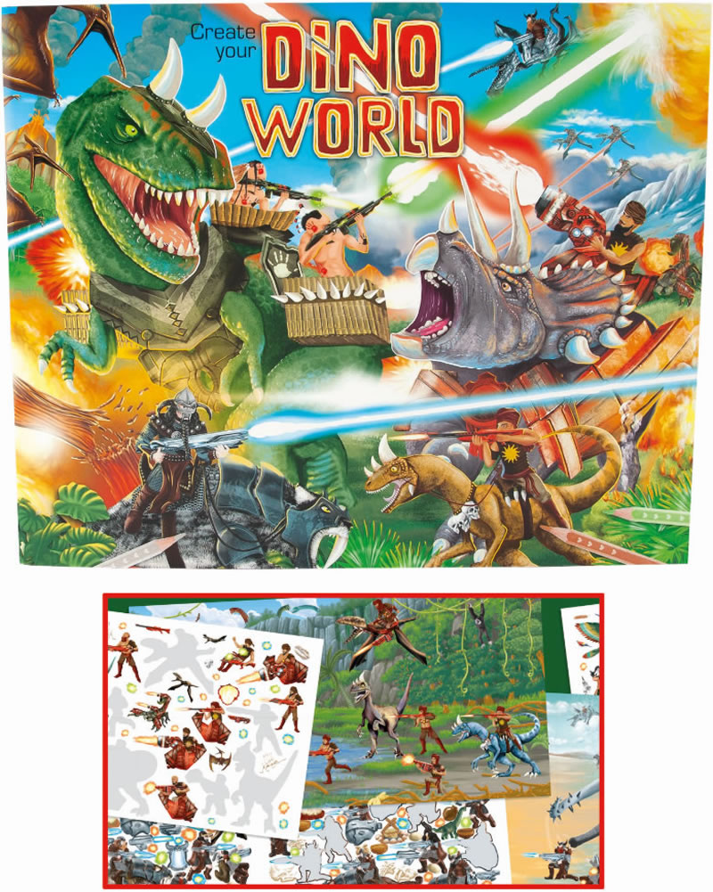 Create Your Own Gift Tags Cards And More Using Avery: Depesche Create Your Dino World Bei Papiton Bestellen