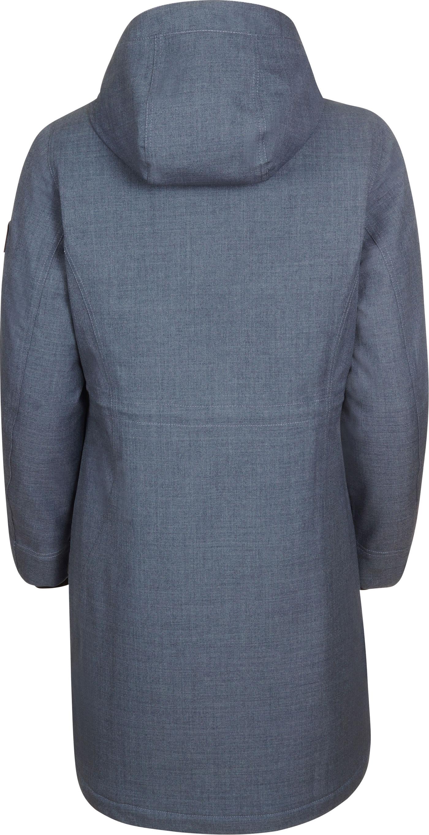 YWLINK Damen Parker M/äNtel Winter Warm Pl/üSch Futter Outwear Kapuzen Taschen Vintage /üBergro/ßE