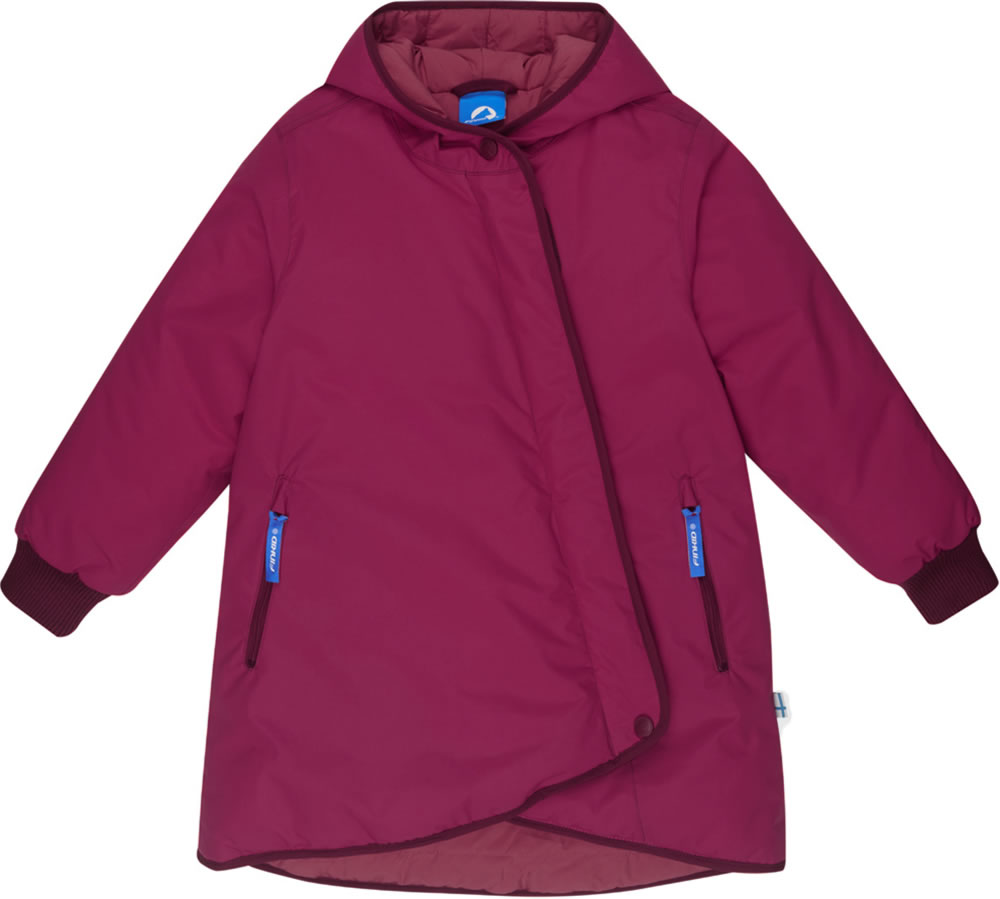 Finkid Girls Wintercoat LIKKA TUPPI persian redcabernet 3211009 247249