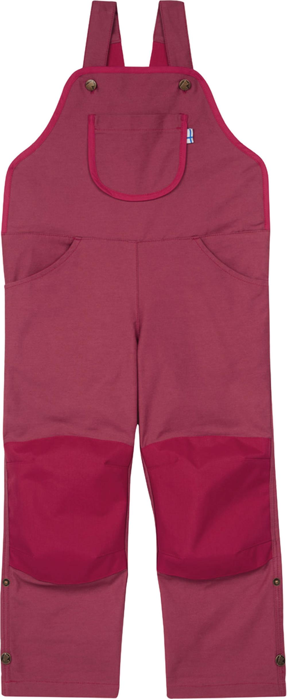 schönen Glanz 100% Spitzenqualität attraktive Farbe Finkid Verstärkte Kinder-Latzhose LOIRI CANVAS cranberry/red 1352005-505200