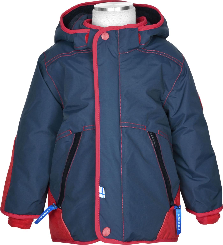 the best attitude 8ed03 2191e Finkid Winterparka TALVINEN HUSKY navy/red 1142007-100200