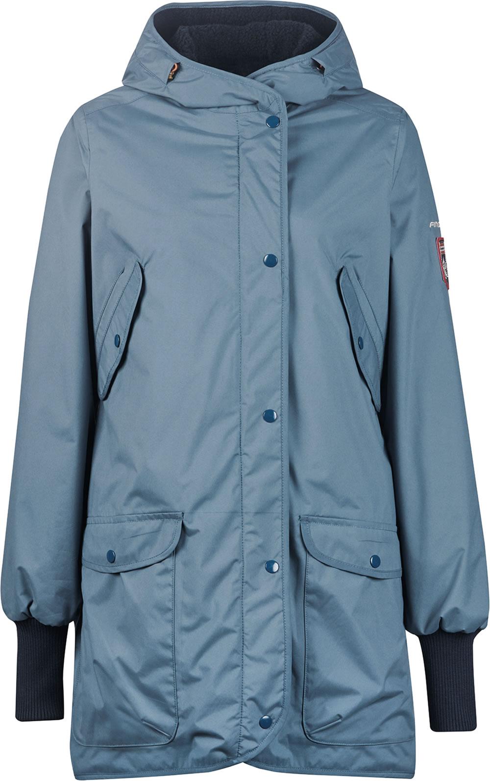 Keine Verkaufssteuer Fabrik authentisch 2020 Finside Reversible Winterparka SUOMUKKA blue mirage/navy 4143002-148100