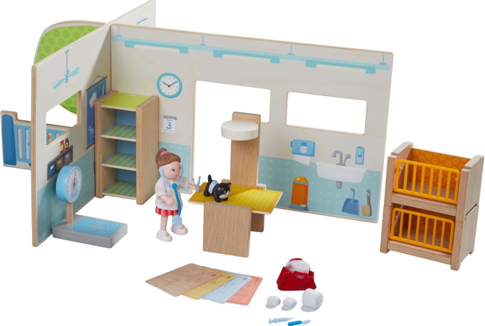 Haba 301988-Little Friends-Maison de Poupée-Mobilier Chambre pour adultes