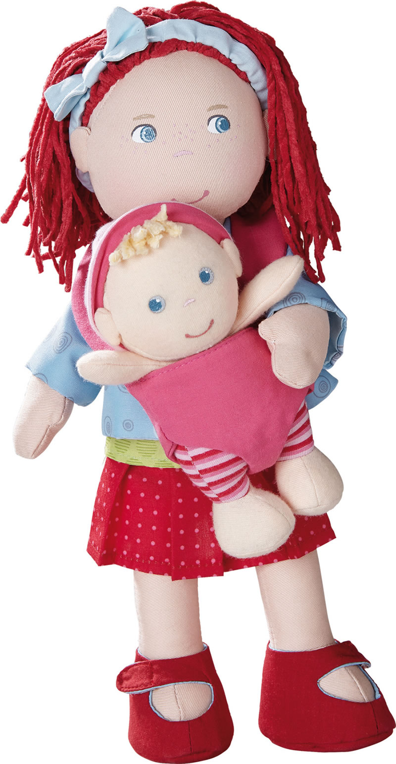 Haba Soft Doll Rubina With Baby 301525 Online At Papiton