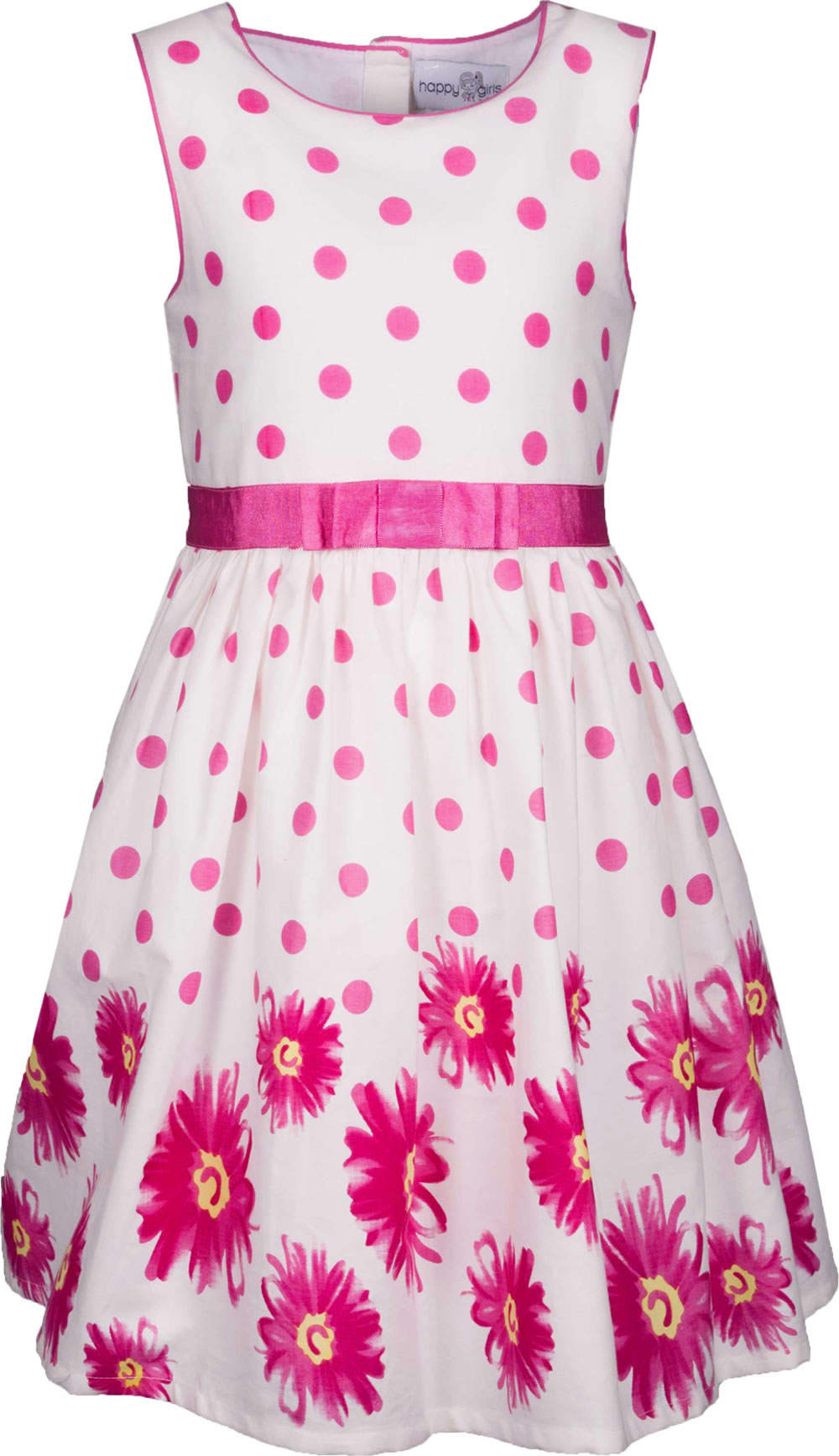 Happy Girls Sommer-Kleid BLUMEN pink 981302-36 bei Papiton ...