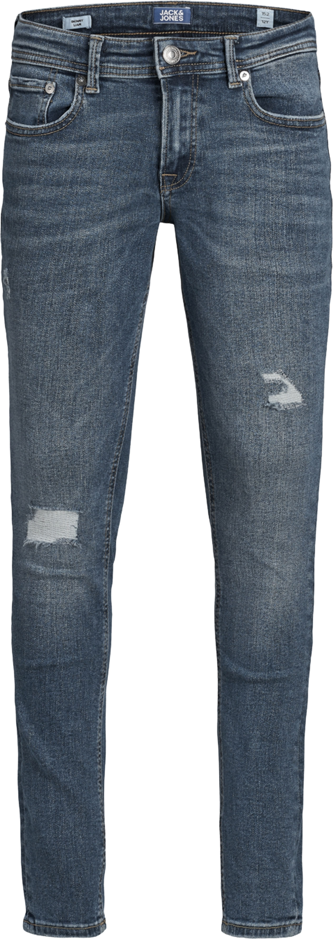 Jack /& Jones Junior Liam OG Garçons Coupe Skinny Jeans en denim bleu-clearance