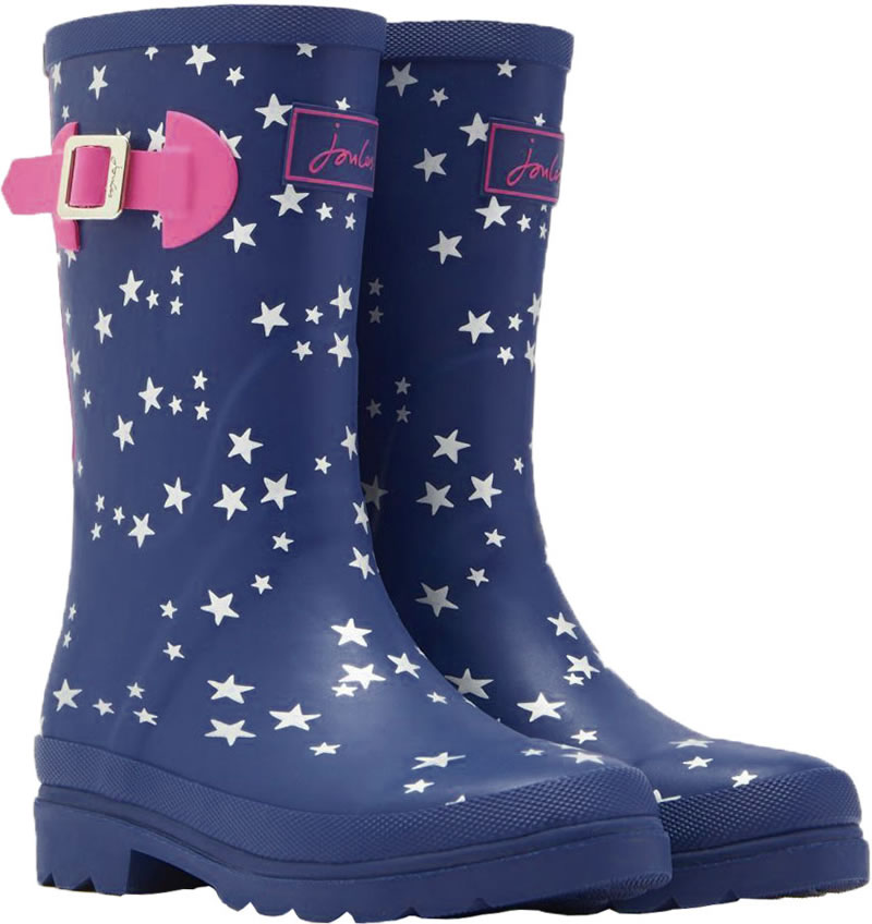 the latest 767f4 60b74 Tom Joule Gummistiefel WELLY STARS blau/silber/beere V_JNRGIRLSWLY