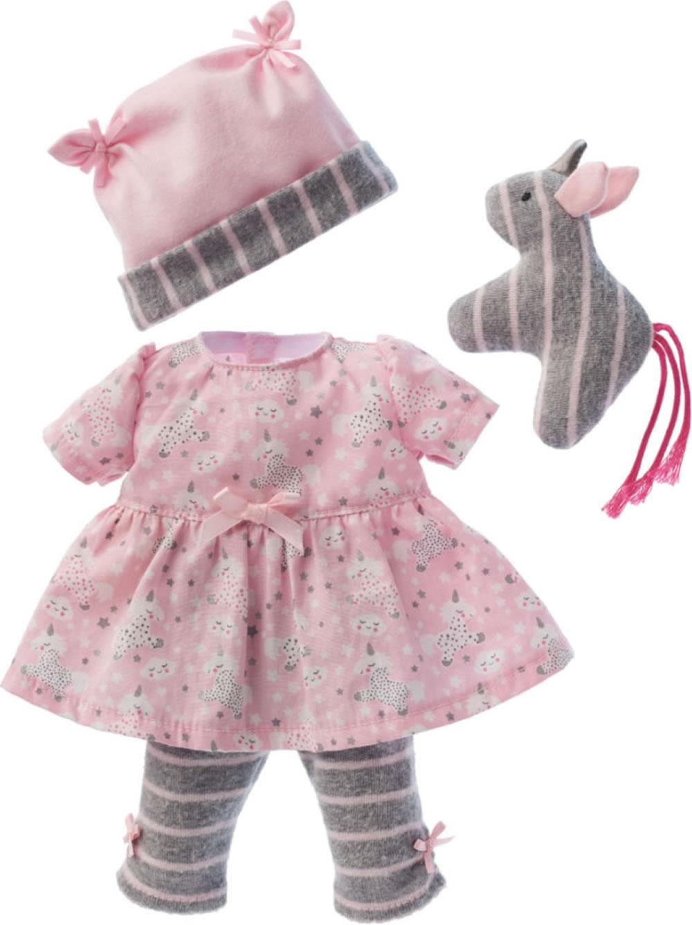 k the kruse kleidung baby puppe 30 33cm kleid mit leggings. Black Bedroom Furniture Sets. Home Design Ideas