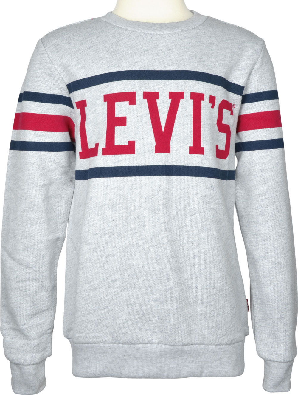 new style d5e76 ea58a Levi´s Sweat-Pullover Sweatshirt CREWRAY Standard Fit Boys gris clair  NM15067-22