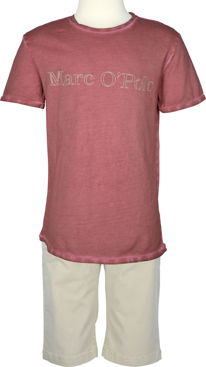 beautiful short sleeve shirt marc o 39 polo for boys in marsala red the. Black Bedroom Furniture Sets. Home Design Ideas