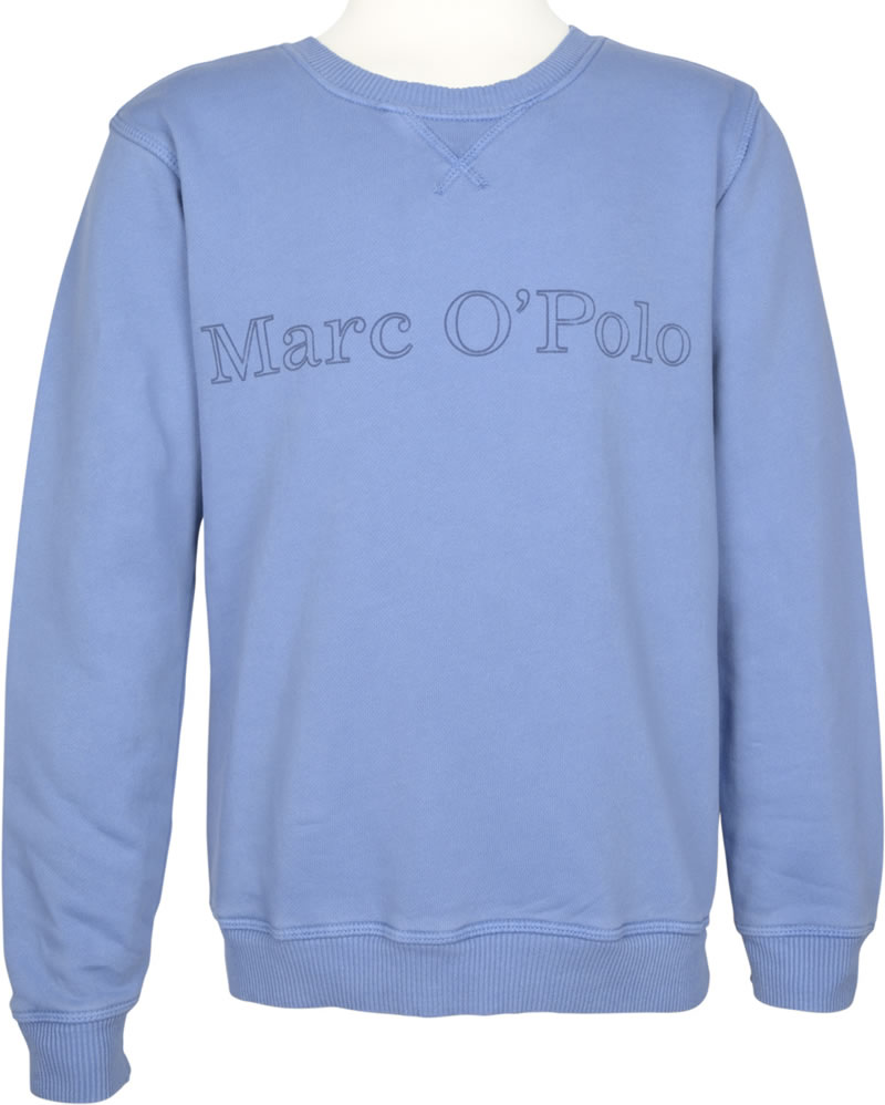 marc o 39 polo sweatshirt rundhals infinity blue blau. Black Bedroom Furniture Sets. Home Design Ideas