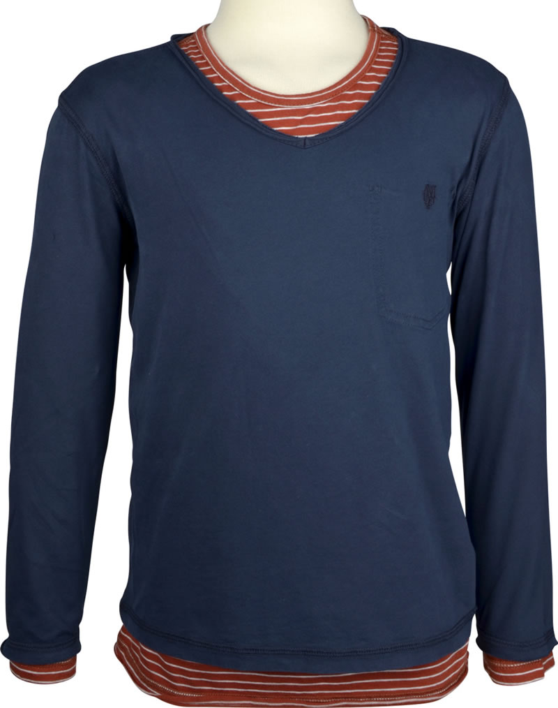 save off 05f3c aa026 Marc O'Polo T-Shirt long sleeve sky captain 1544421-3980