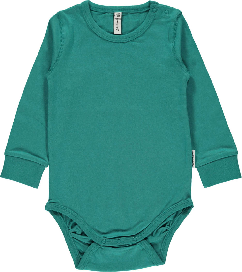 b6f41766c95d Great body in petrol by MAXOMORRA for boys. The buttons on the neckline and  in the crotch make donning and doffing a child s play. The soft material  offers ...
