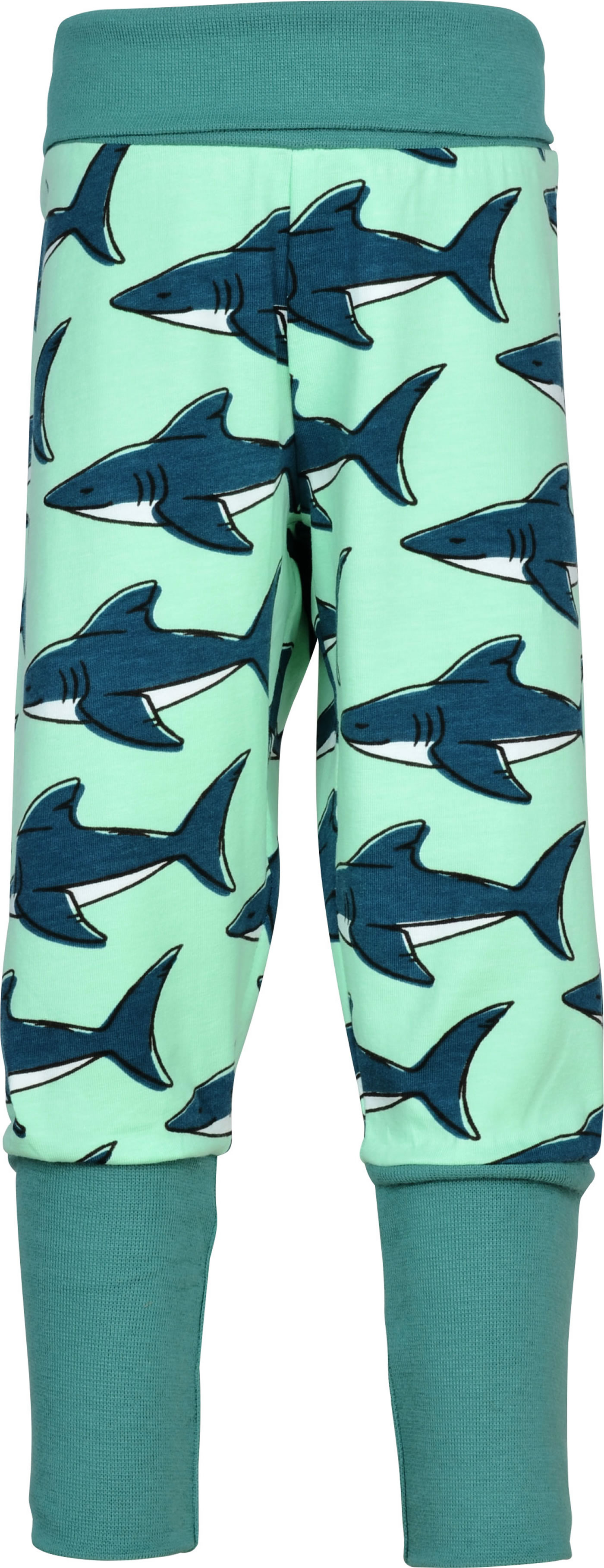 Maxomorra Baby Rib Pants Shark