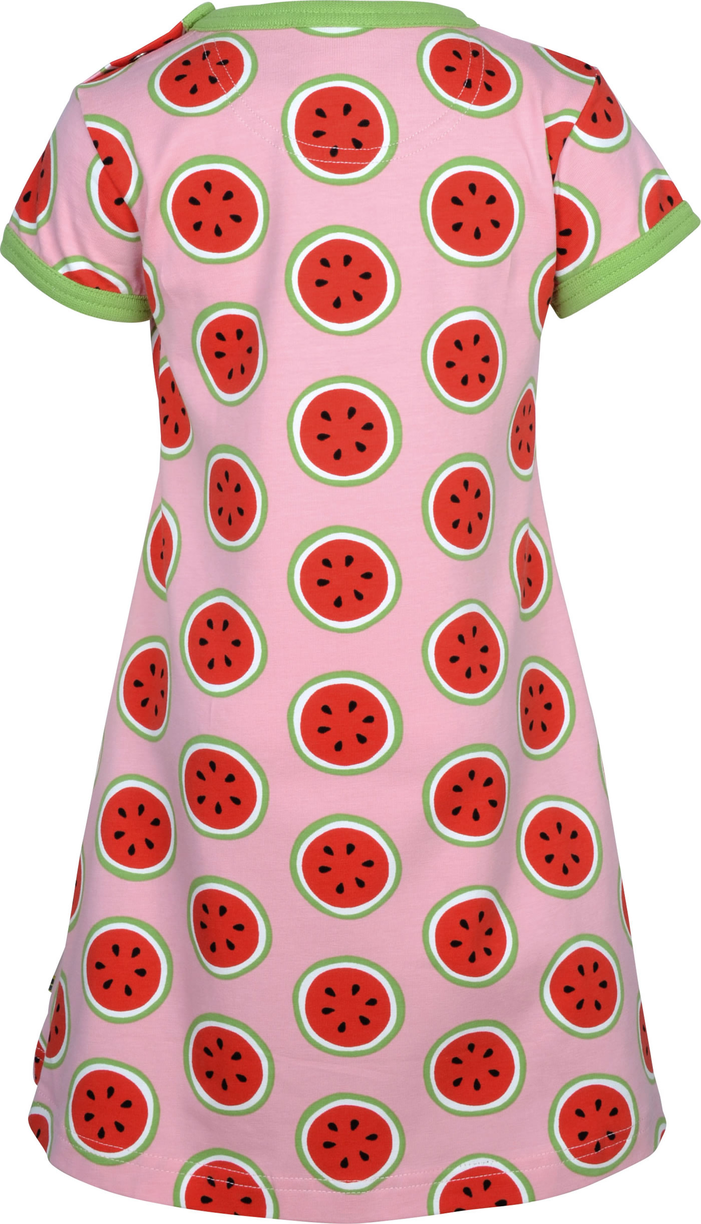Maxomorra Short Sleeve Dress Watermelon Love