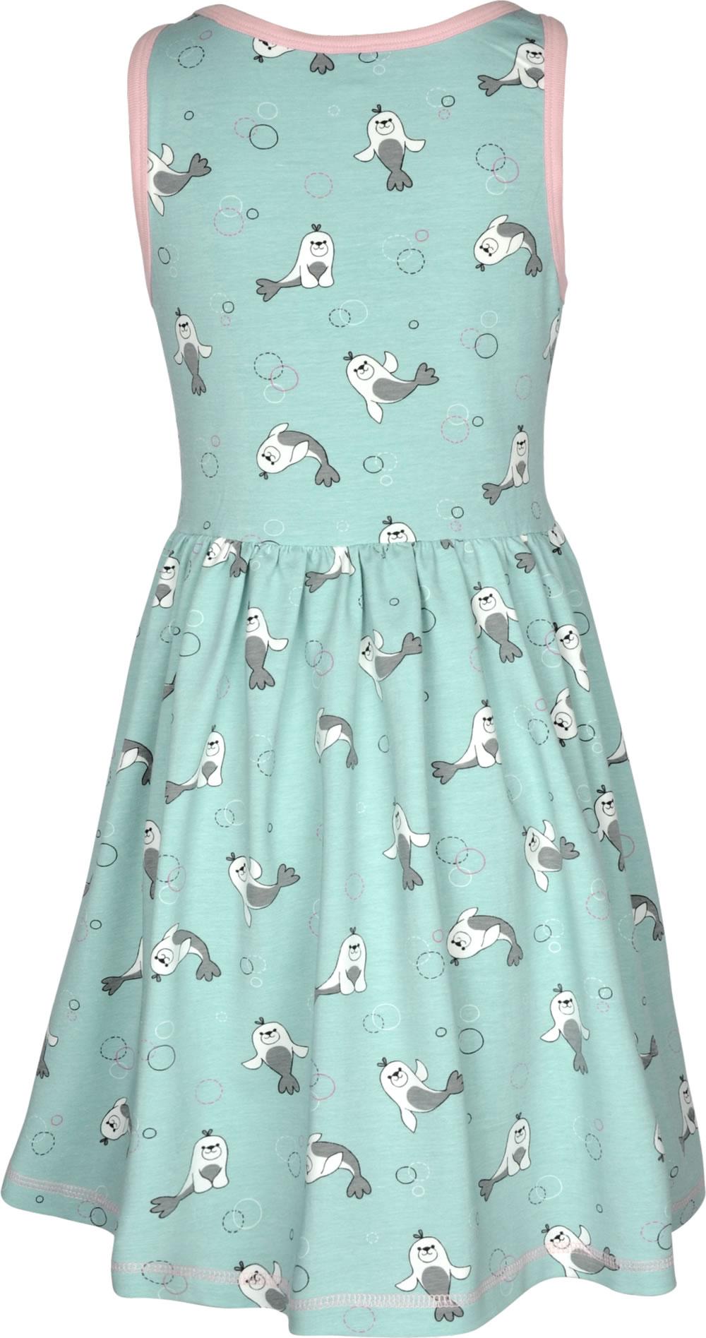 Kleid blau trager