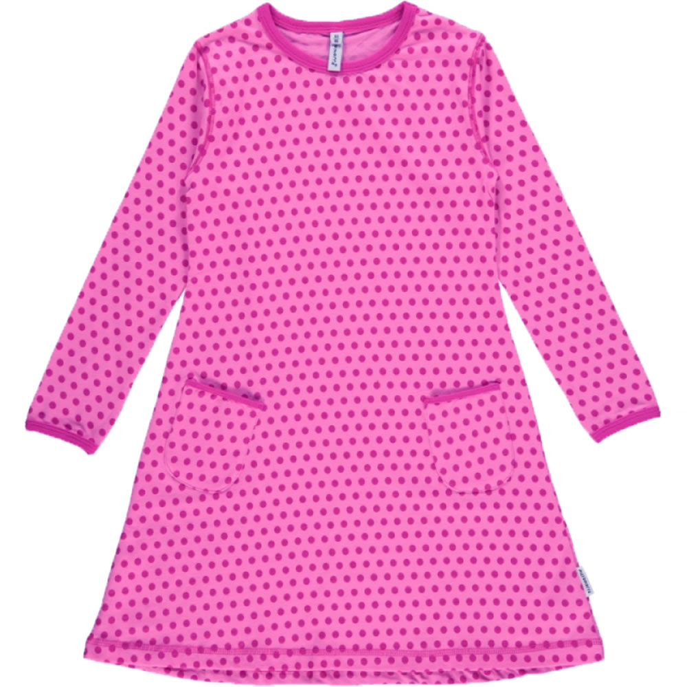 7cf618a05acb Colorful longsleeve dress for girls by MAXOMORRA. The bright colors and  style make this dress a great eye-catcher. The soft material provides a  comfortable ...