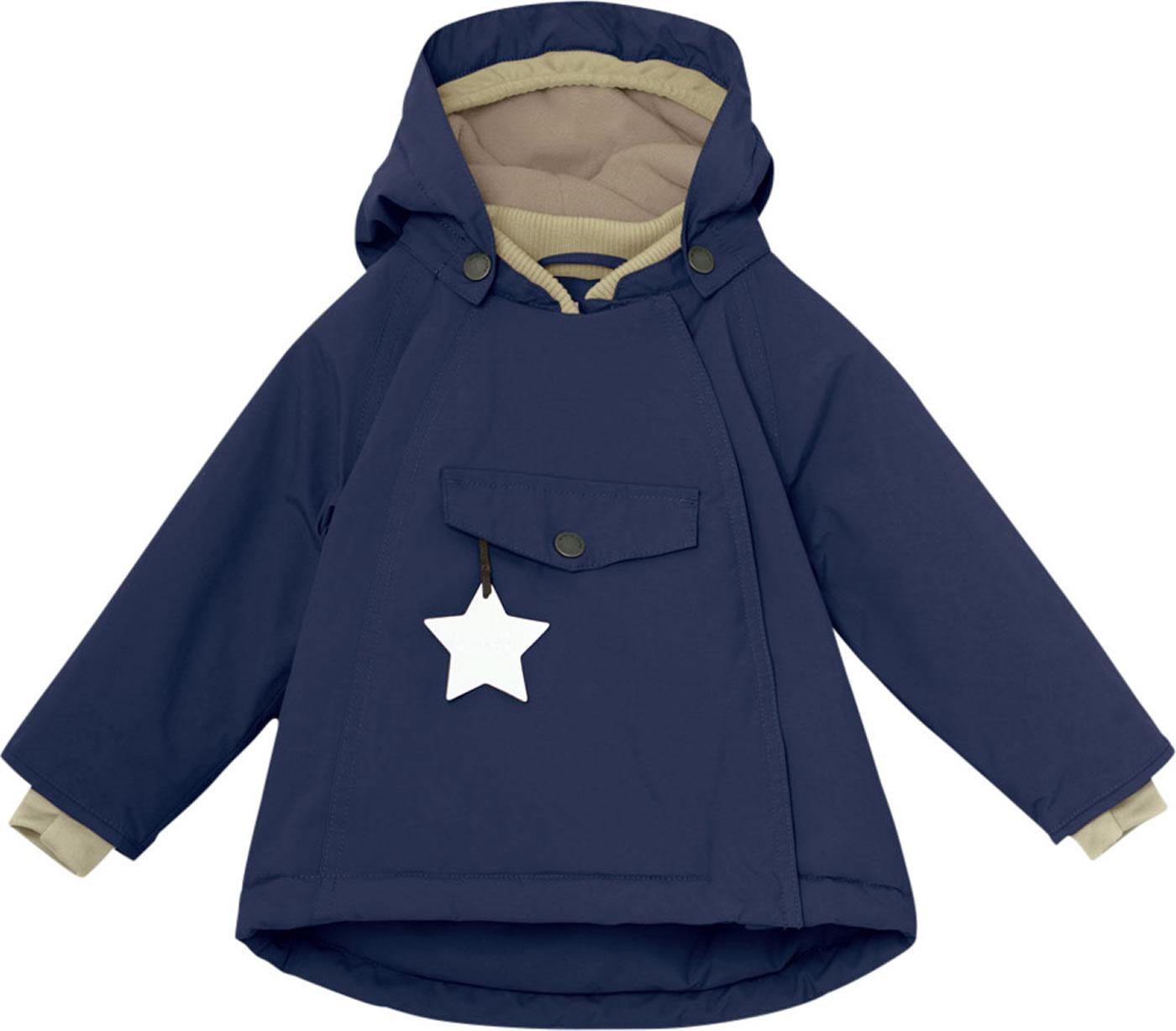 uusi saapuu halpa hinta ilmainen toimitus Mini A Ture Winter Jacket Thermolite® WANG peacoat blue 1193093700-590