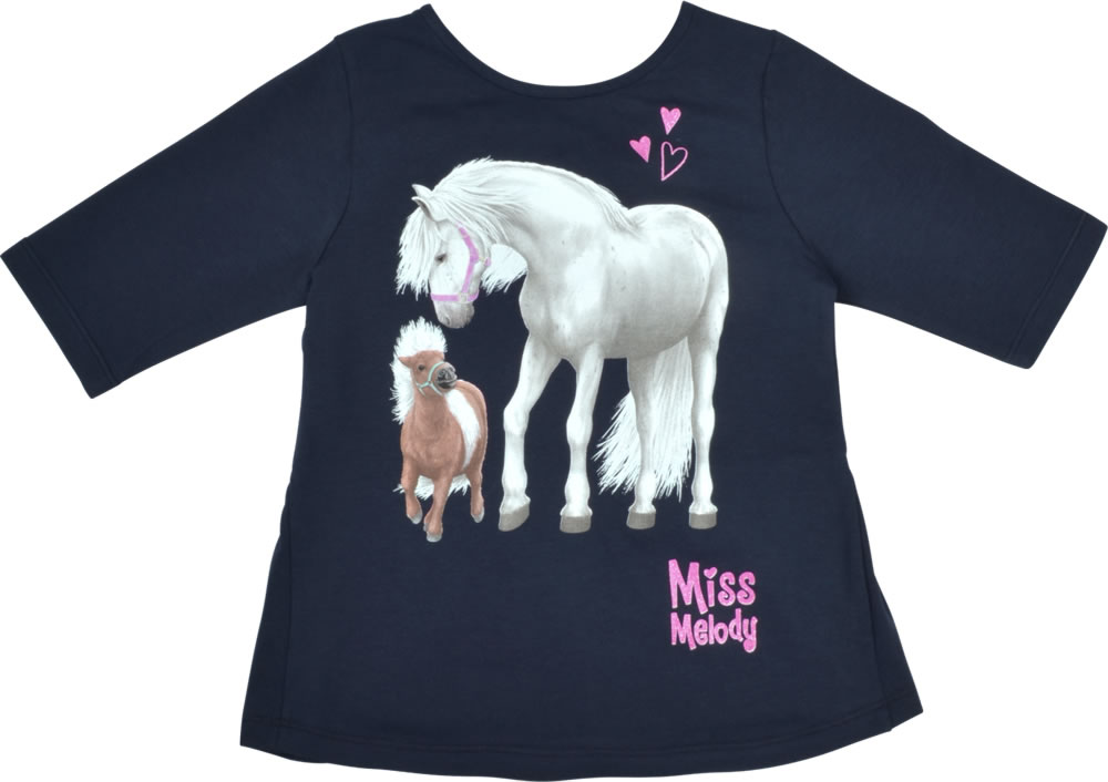 purchase cheap 1dad1 fa0dd Miss Melody T-Shirt / Tunika Halbarm FOHLEN light navy blazer 84072-776