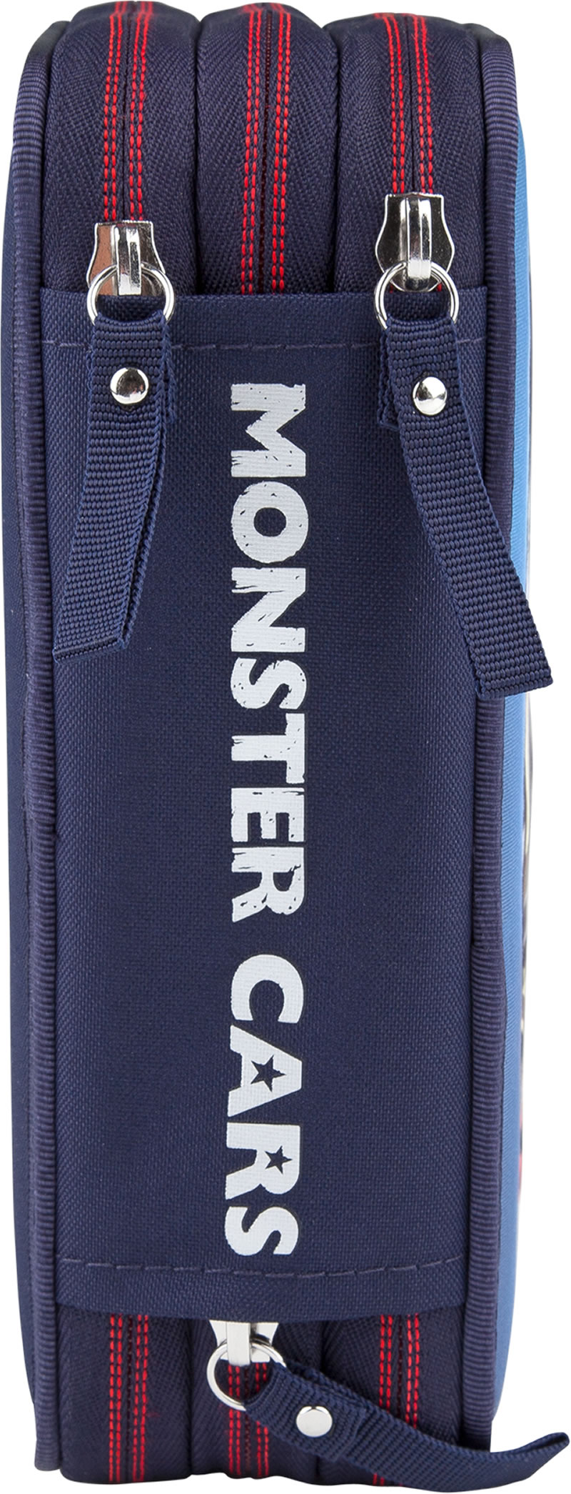 Monster Cars Pencil Case With Filling With Led Online At Papiton