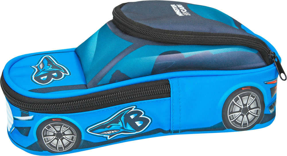 Monster Cars Pencil Case Blue Online At Papiton