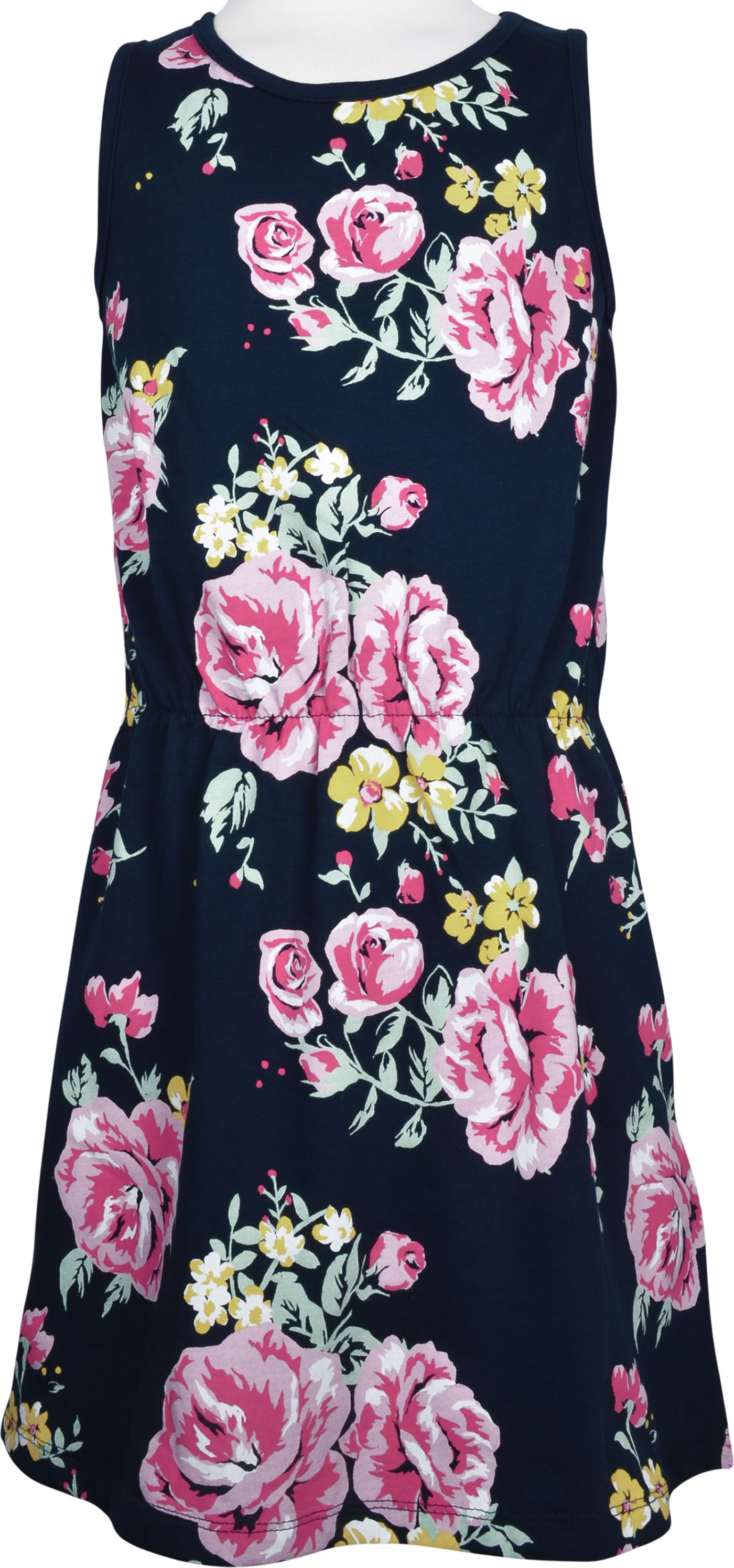 name it jersey kleid ohne arm nkfvigga blumen dark sapphire 13177475