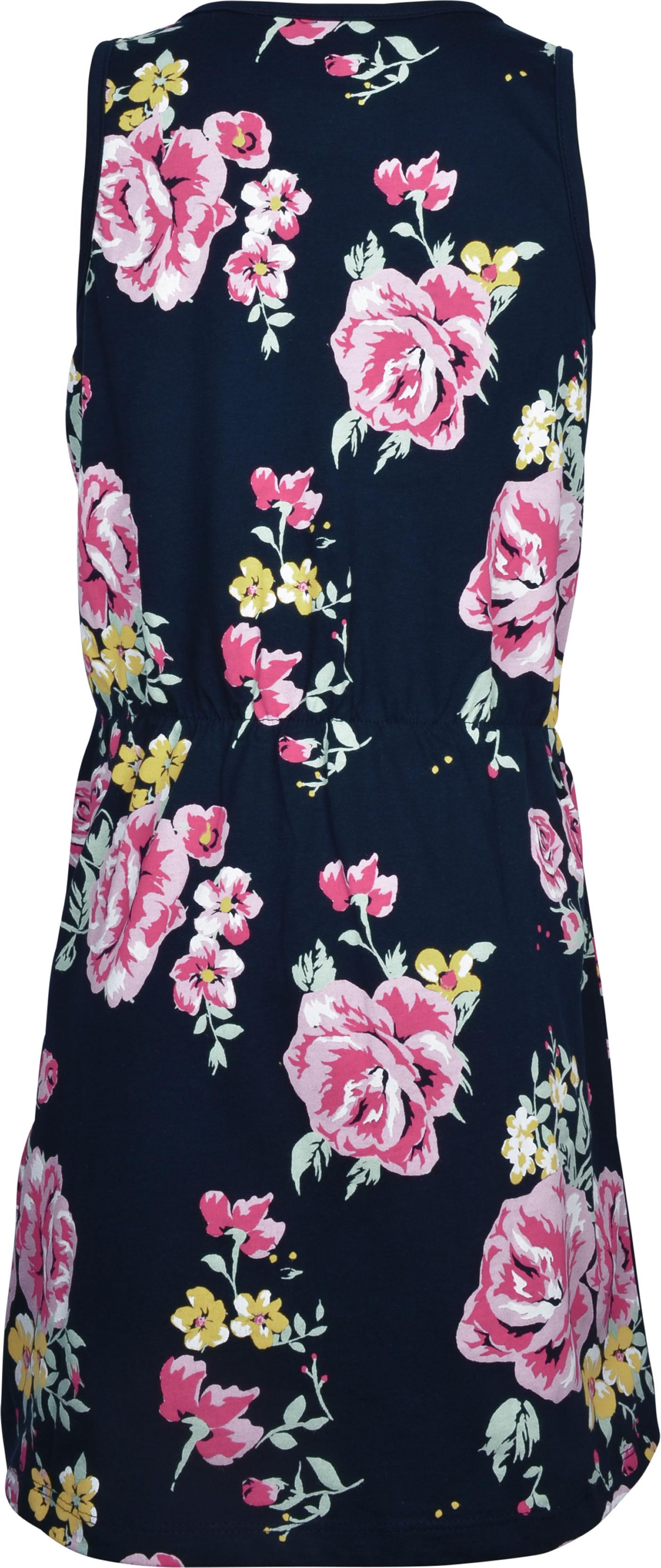 name it Jersey Kleid ohne Arm NKFVIGGA Blumen dark ...