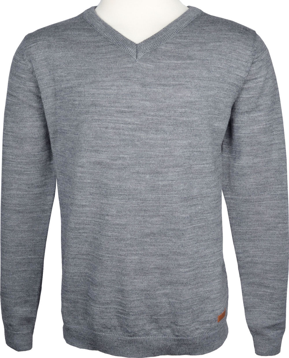 info for 9416c 6a22b name it Wollstrick-Pullover NKMIMANN grey melange 13156195