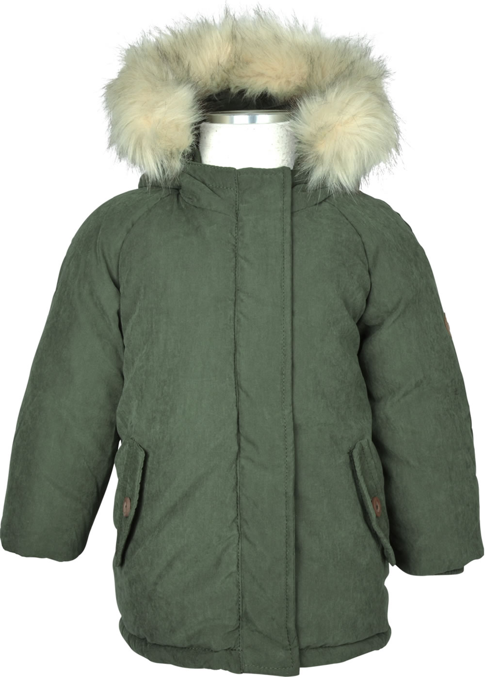 sports shoes 55f47 09330 name it Parka m. Fell-Kapuze NMMANSON forest night 13155733