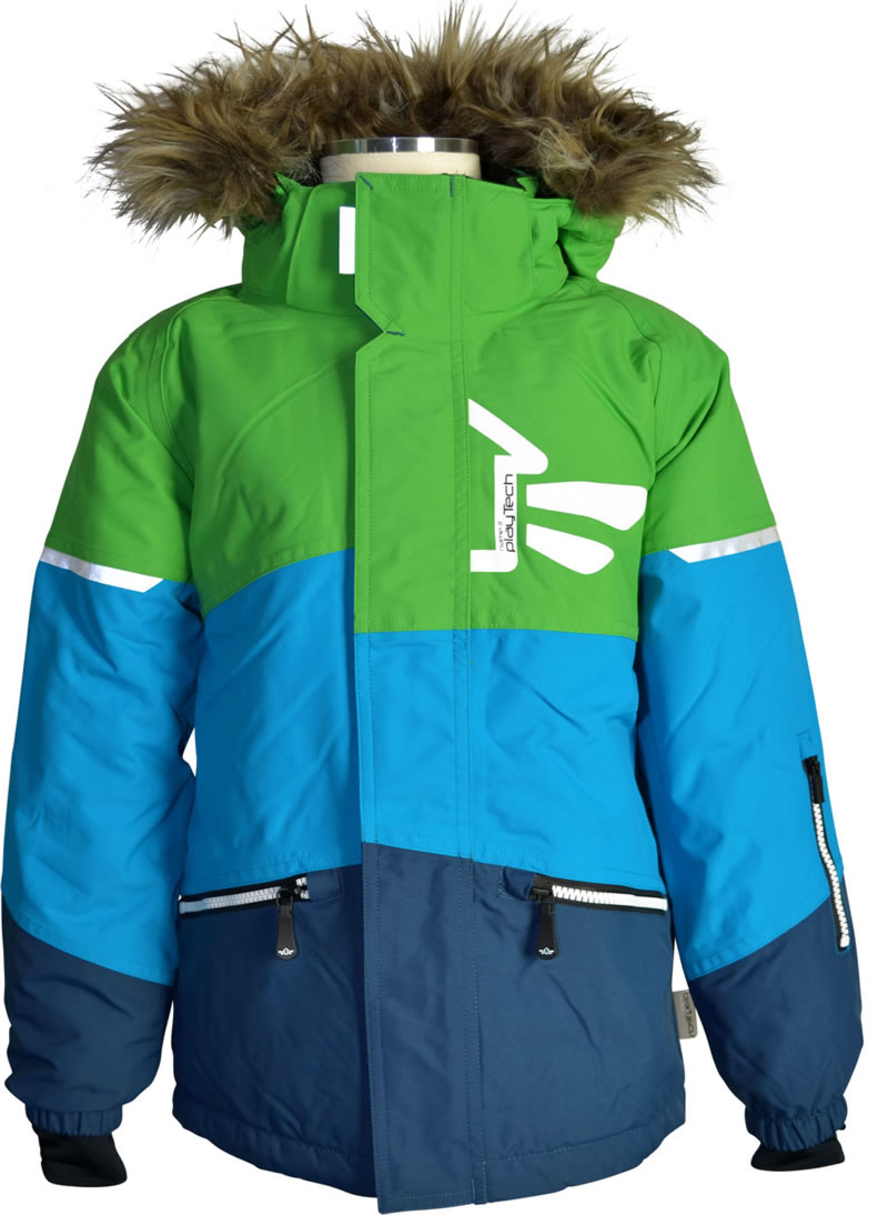 low priced d1049 5ea94 name it Jacke m. Fell-Kapuze STORM Kids andean toucan Bionic Finish ECO  13097038