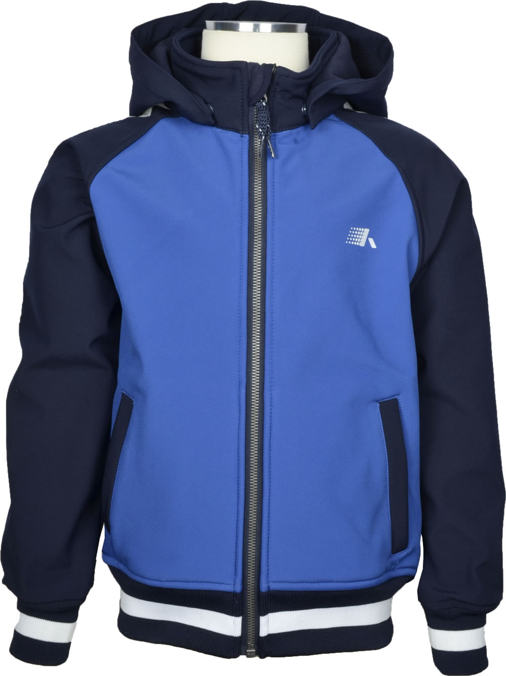 name it Softshell jacket NKMALFA Kids sky captain 13147772 online at Papiton.