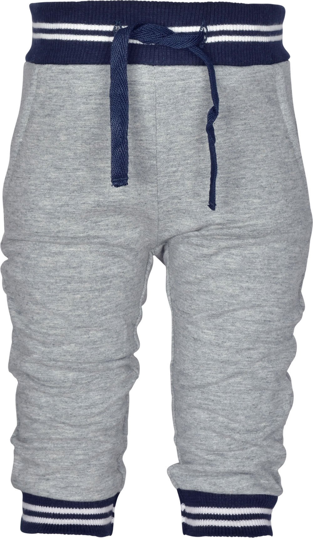 name it Sweat Hose Jogginghose NBMNAMIK grey melange 13157298