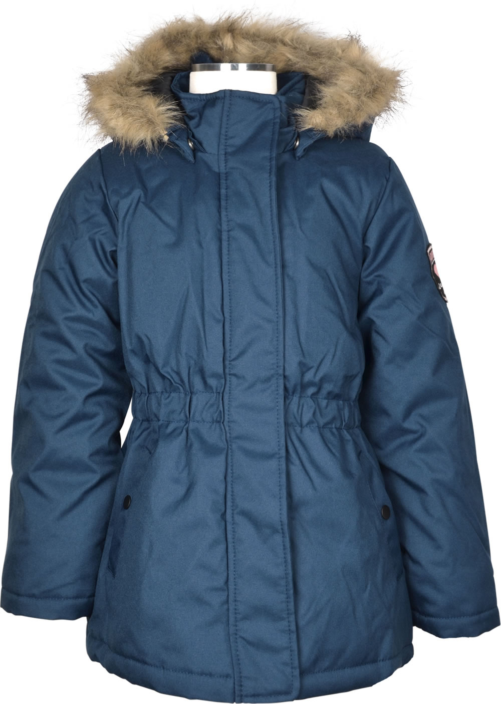 huge selection of be751 b6dab name it Winterjacke m. Fell-Kapuze NKFMOLLY NOOS dress blues 13155379