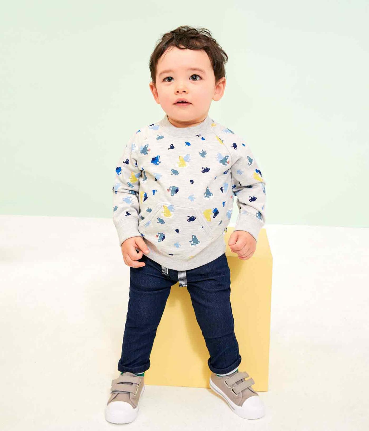 Petit Bateau Baby-Jungen Jeans