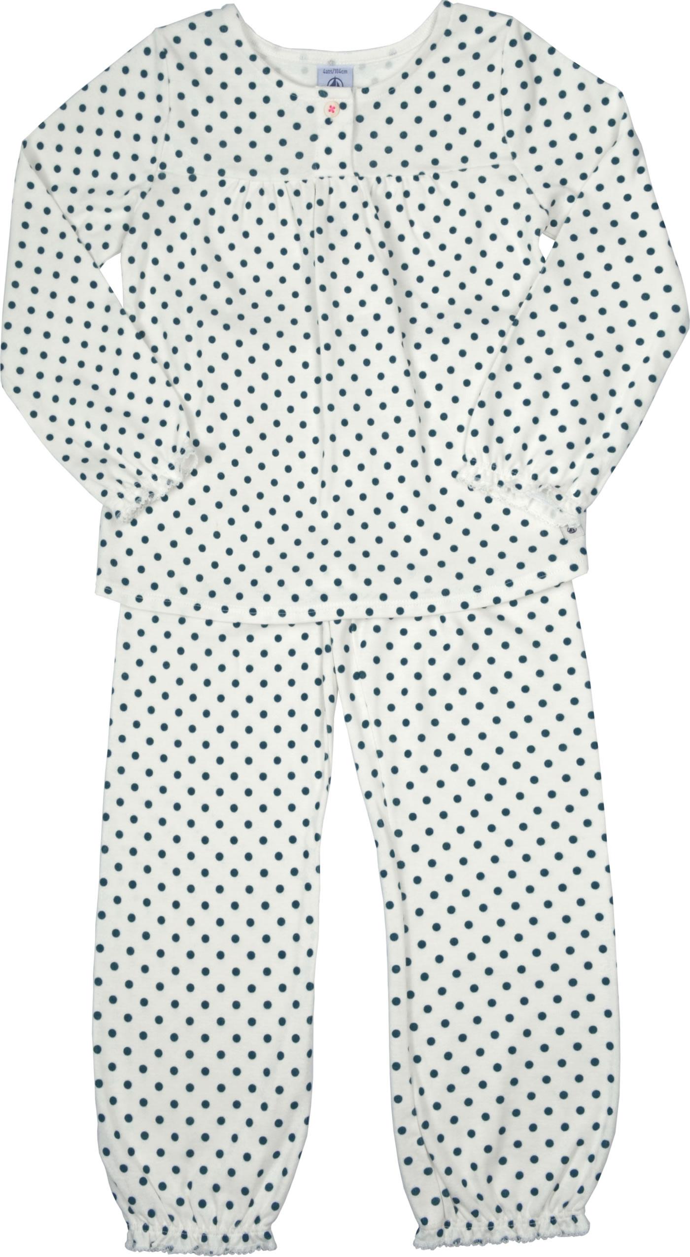 Petit Bateau M/ädchen Schlafanzughose