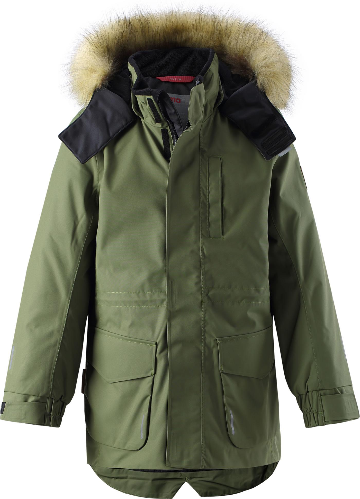 Reima Winterjacke Parka Reimatec® NAAPURI khaki green 531351 8930