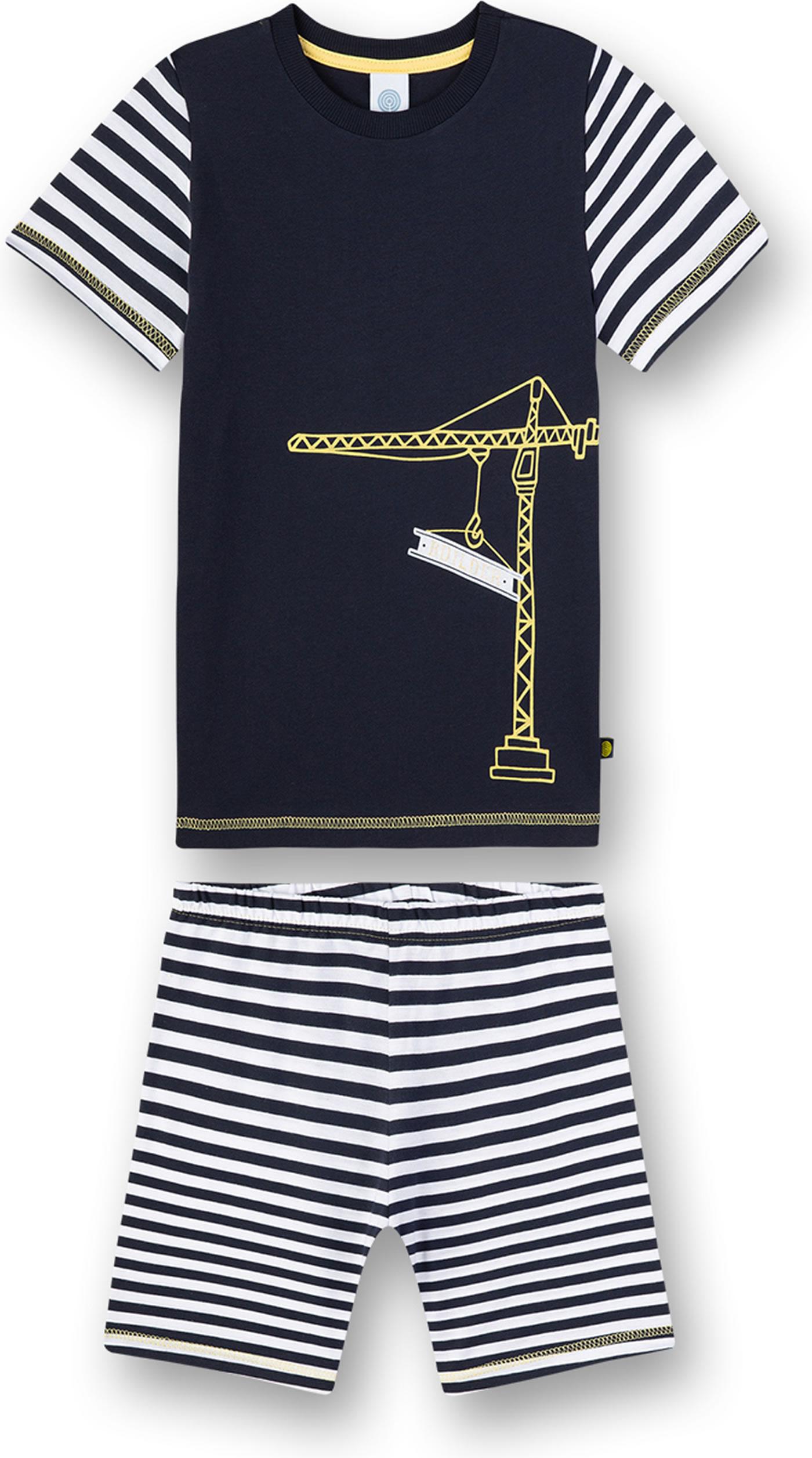 Sanetta Jungen Kurz Zweiteiliger Schlafanzug