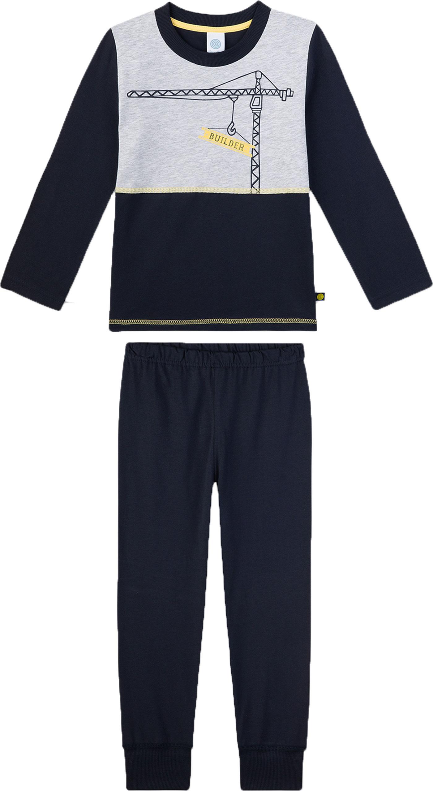 Sanetta Jungen Pyjama Kurz Zweiteiliger Schlafanzug