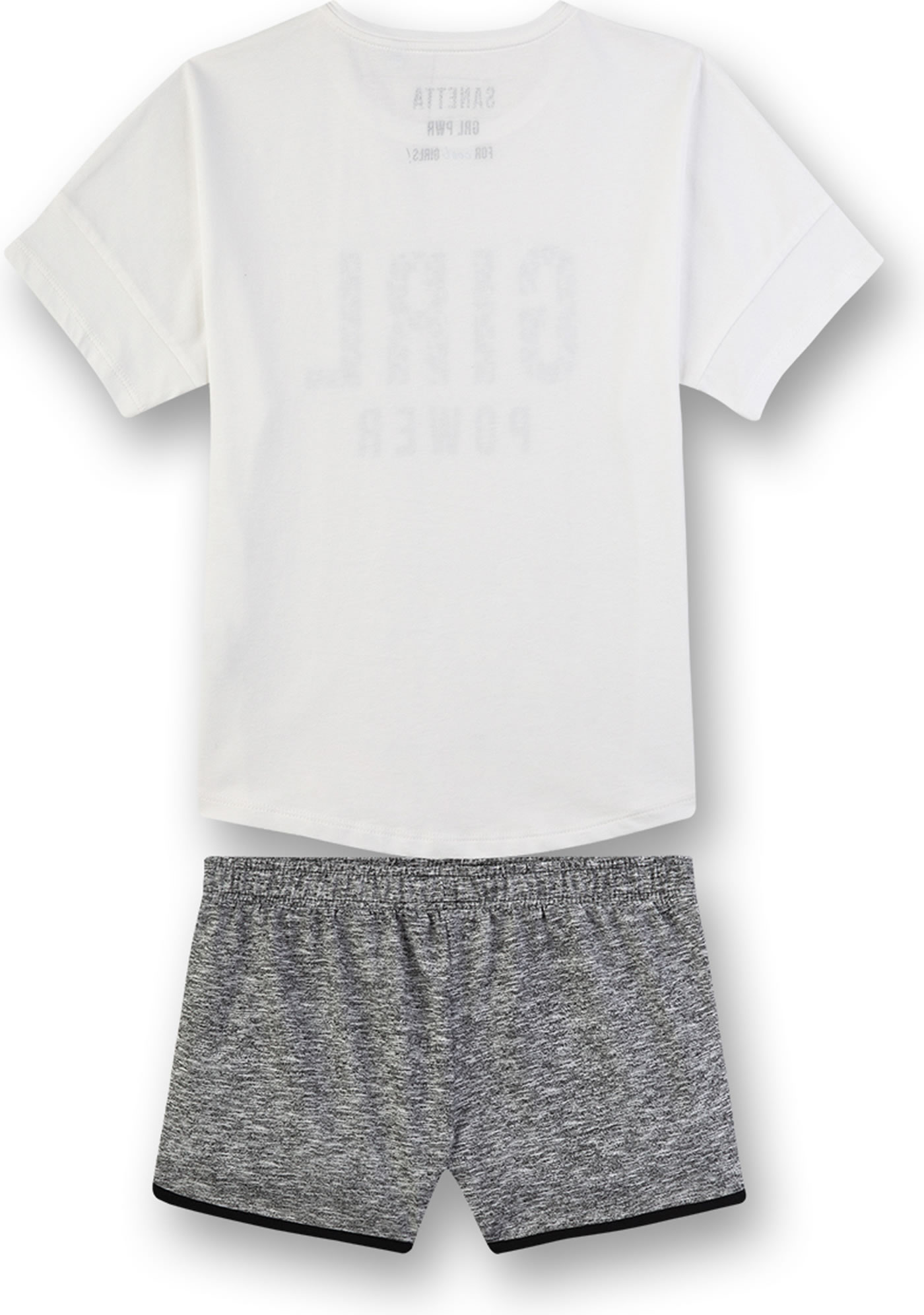 Sanetta M/ädchen Pyjama Zweiteiliger Schlafanzug
