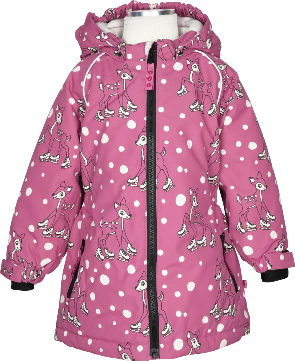 sneakers for cheap 9f1c2 58315 Smafolk Mädchen Winter-Jacke HIRSCH rapture rose 83-9733-503